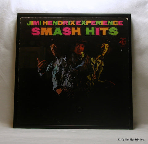 "JIMI HENDRIX Framed Album Cover ""Smash Hits"" (1968)"