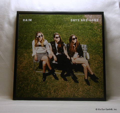 "HAIM Framed Album Cover ""Days Are Gone"" (2013)"