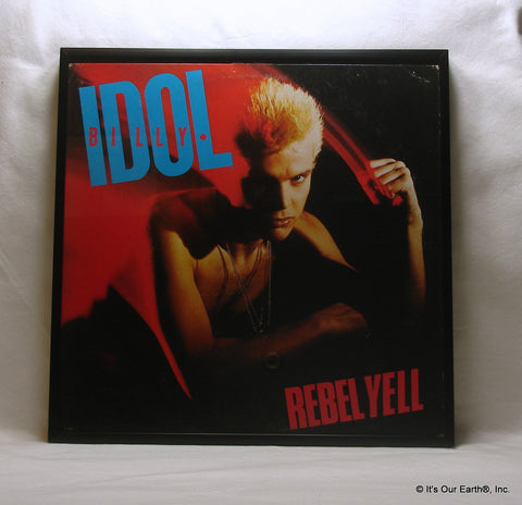 "BILLY IDOL Framed Album Cover ""Rebel Yell"" (1983)"