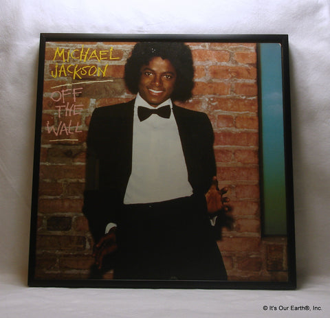 "MICHAEL JACKSON Framed Album Cover ""Off The Wall"" (1980)"