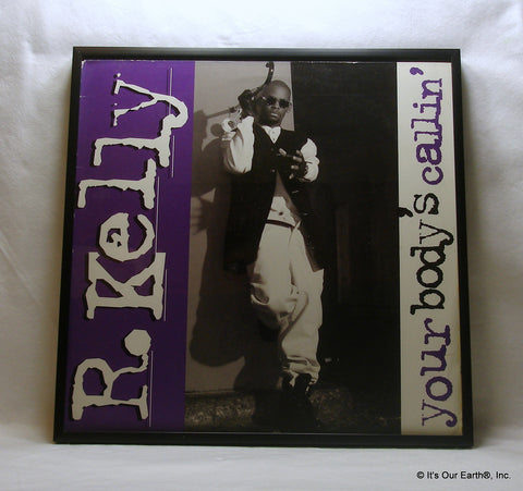 "R. KELLY Framed Album Cover ""Your Body's Callin"" (1994)"