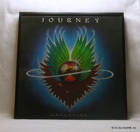"JOURNEY Framed Album Cover ""Evolution"" (1979)"