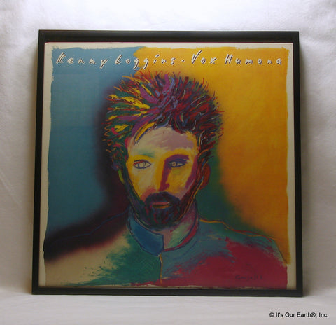 "KENNY LOGGINS Framed Album Cover ""Vox Humana"" (1985)"