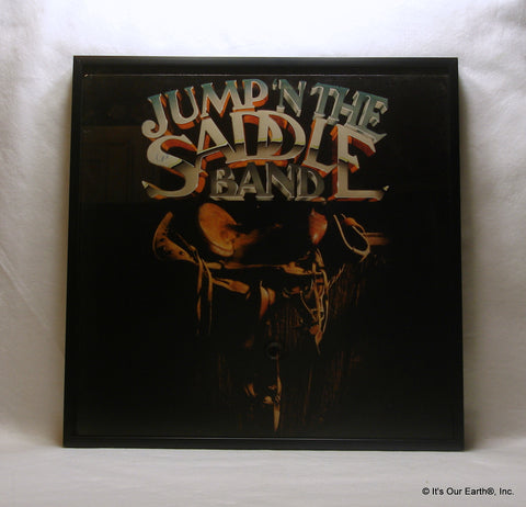 "JUMP IN THE SADDLE BAND Framed Album Cover ""Self Titled"" (1983)"