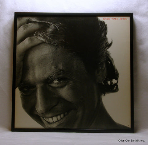 "ROBERT PALMER Framed Album Cover ""Riptide"" (1985)"