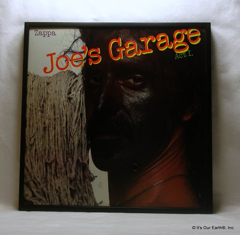 "FRANK ZAPPA Framed Album Cover ""Joe's Garage"" (1979)"