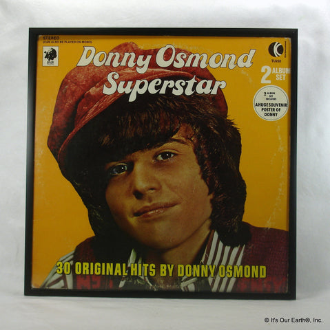 "DONNY OSMOND Framed Album Cover ""Superstar"" (1973)"