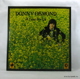 "DONNY OSMOND Framed Album Cover ""A Time For Us"" (1973)"