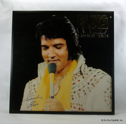 "ELVIS PRESLEY Framed Album Cover ""Canadian Tribute"" (1978)"