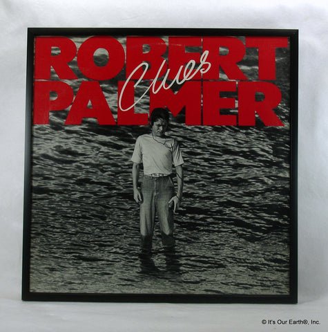 "ROBERT PALMER Framed Album Cover ""Clues"" (1980)"