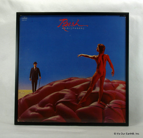 "RUSH Framed Album Cover ""Hemispheres"" (1978)"