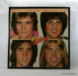 "BAY CITY ROLLERS Framed Album Cover ""Greatest Hits"" (1977)"