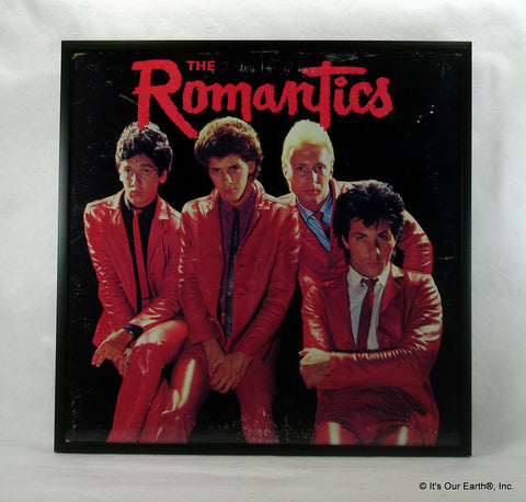 "The ROMANTICS Framed Album Cover ""The Romantics"" (1980)"