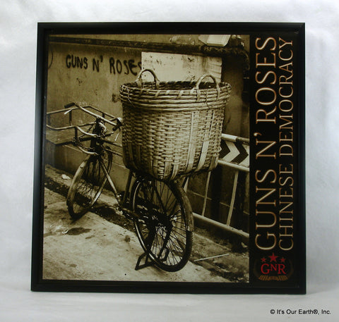 "GUNS N' ROSES Framed Album Cover ""Chinese Democracy"" (2008)"