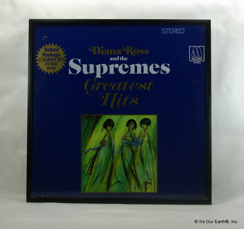 Diana Ross Amp The Supremes Framed Album Cover Quot Greatest
