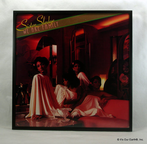 "SISTER SLEDGE Framed Album Cover ""We Are A Family"" (1979)"