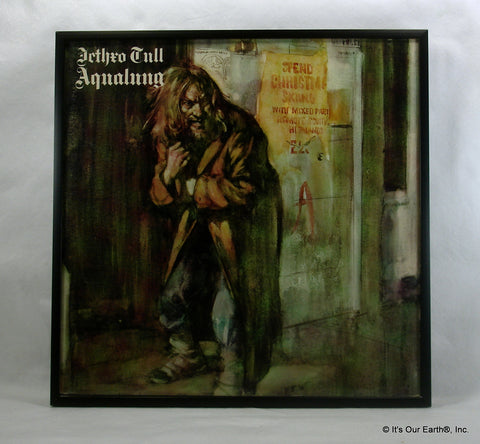 "JETHRO TULL Framed Album Cover ""Aqualung"" (1971)"