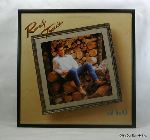 "RANDY TRAVIS Framed Album Cover ""Old 8x10"" (1988)"
