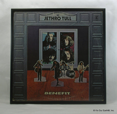 "JETHRO TULL Framed Album Cover ""Benefit"" (1970)"