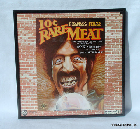 Framed Record Album Cover Art