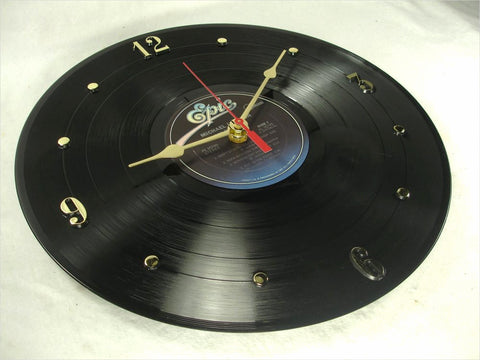 "Clock made w/a MICHAEL JACKSON Record ""Off The Wall"" (1980)"