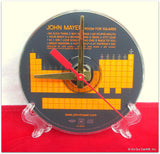 Recycled Music CD Desk Clock