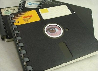 "5.25"" Floppy Disk Notebook 1-PACK Note pad Great Geek Gift"