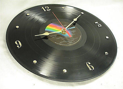 "Clock made w/a ELTON JOHN Record ""Goodbye Yellow Brick Road"" (1973)"
