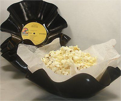 Recycled Record Bowl Party 10 Pack