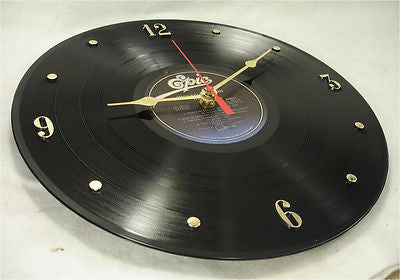 "Clock made w/a MICHAEL JACKSON Record ""Thriller"" (1982)"