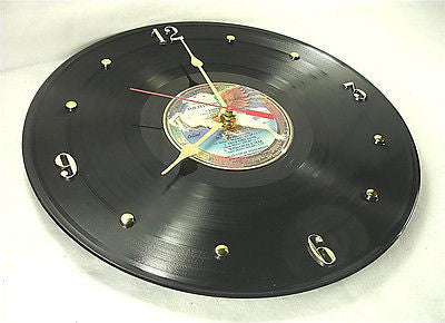 Clock made w/a STEVE MILLER Record / Book Of Dreams