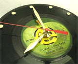 "Clock made w/a RINGO STARR Record ""It Don't Come Easy"" (1970)"