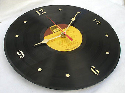 Clock made w/a STEVIE WONDER Record / Songs In The Key Of Life