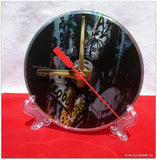 "CD Clock made w/a U2 Compact Disc / ""Achtung Baby"" Stand Included"
