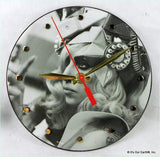"Clock made w/a LADY GAGA Record ""Telephone"" (2010) Picture Disc Featuring Beyonce"
