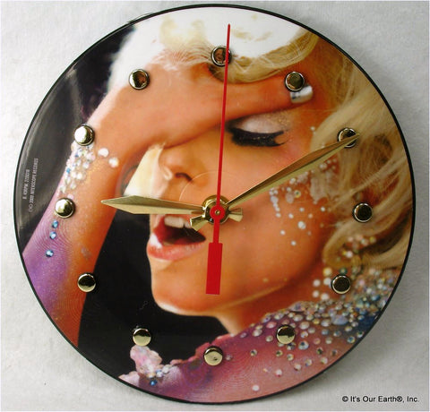 "Clock made w/a LADY GAGA Record ""LoveGame"" (2009) Picture Disc"