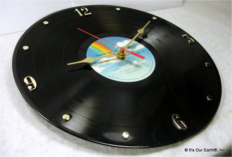 "Clock made w/a STEELY DAN Record ""Greatest Hits"" (1978)"