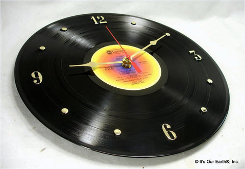 "Clock made w/a STEELY DAN Record ""AJA"" (1977)"