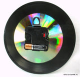"Clock made w/a PINK FLOYD Record ""Another Brick In The Wall Part II"" (1979)"