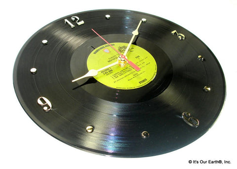 "Clock made w/a GRATEFUL DEAD Record ""Europe '72"" (1973)"