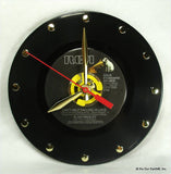 "Clock made w/a ELVIS PRESLEY Record ""Can't Help Falling In Love"" (1961)"