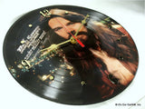 "Clock made w/a BOB SEGER Record ""Stranger In Town"" (1978) Picture Disc"