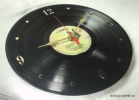 "Clock made w/a QUEEN Record ""A Day At The Races"" (1976)"