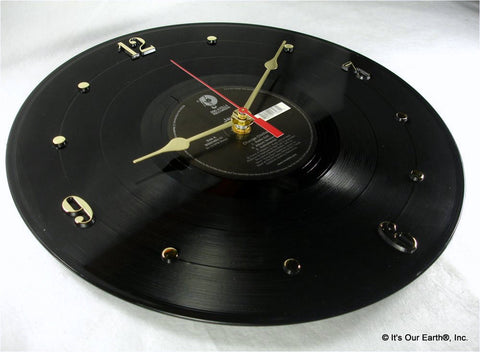 "Clock made w/a JAY-Z Record ""Change Clothes"" (2003)"