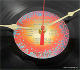 "Clock made w/a JOURNEY Record ""Escape"" (1981)"