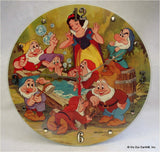 Clock made w/a SNOW WHITE Record / Disney Soundtrack / Picture Disc