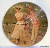 Clock made w/a MARY POPPINS Record / Movie Soundtrack (1964) Picture Disc