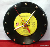 Recycled 45rpm Vinyl Record Clock