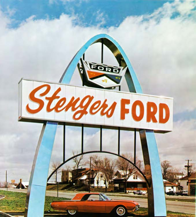 Stengers Ford Badge