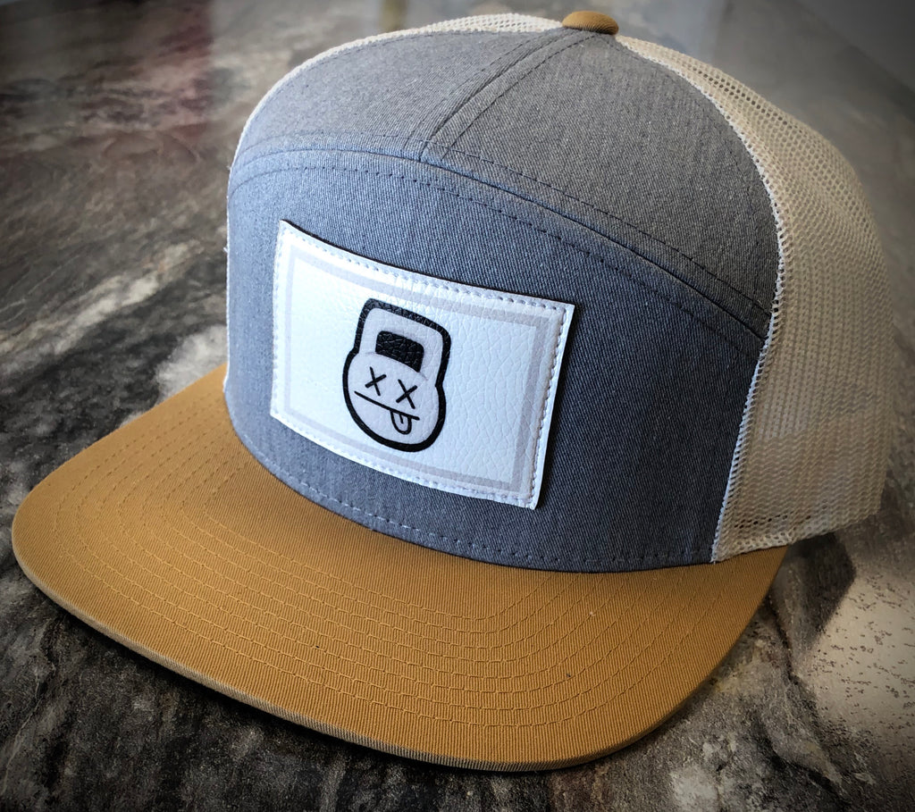 Mesh Heather Gry Birch/Biscuit SnapBack